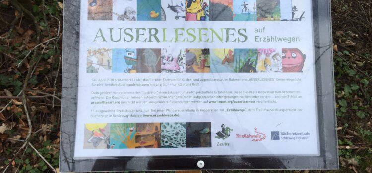 """Zum Internationalen Kinderbuchtag: Einladung zu einem Spaziergang mit """"Erzählbildern"""" in Flensburg"""