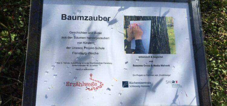 Von mutigen Libellen, tragenden Flügeln und wunderbaren Kindern – Baumzauber in Flensburg