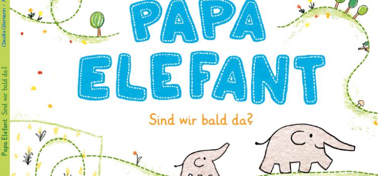 """Mit Papa Elefant unterwegs auf dem """"Erzählweg"""""""