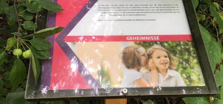 Kinderfreundschaften – neues August-Thema auf dem Erzählweg in Flensburg